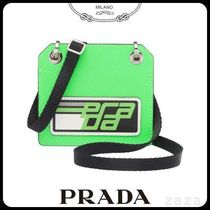 PRADAプラダ 1MC044 SAFFIANO LEATHER NAME TAG