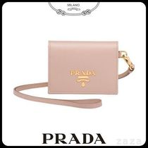 PRADAプラダ 1MC006 LEATHER BADGE HOLDER