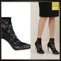 【DOLCE & GABBANA】Bette ankle boots in Taormina lace