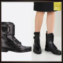 【CHURCH'S】Stefy combat boots in brushed calf
