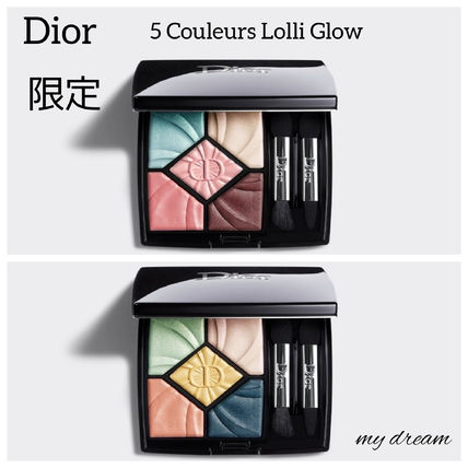 限定♪Dior★5-Couleurs Eyeshadows シュガーorメロー