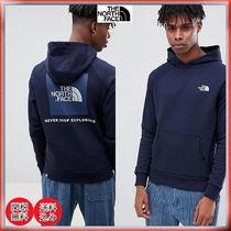 ☆TNF☆限定 The North Face Raglan Red Box Hoodie in Navy