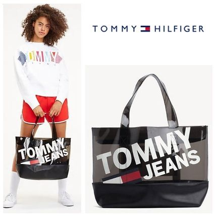Tommy Jeans☆ロゴ クリア トートバッグ♪