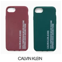 UK発☆Calvin Klein Jeans ロゴ iPhone 8 ケース♪
