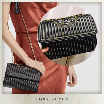 18AW Tory Burch FLEMING ミニスタッズ CONVERTIBLE バッグ S
