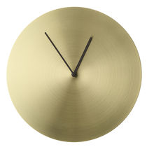 送料関税込◆Norm wall clock brushed brass