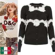 Dolce & Gabbana Cardigan With Lace