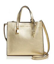 Sale! Marc Jacobs 2way使える レザーバッグ Silver