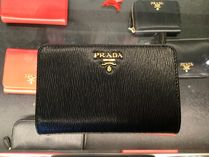 ★PRADA★【1ML225】VITELLO MOVE 二つ折り財布★NERO★