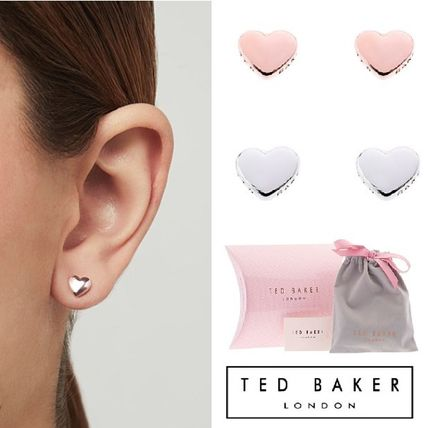 TED BAKER ピアス ギフトに★TED BAKER★ハートが可愛いピアス♡ケース付
