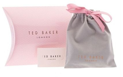 TED BAKER ピアス ギフトに★TED BAKER★ハートが可愛いピアス♡ケース付(9)