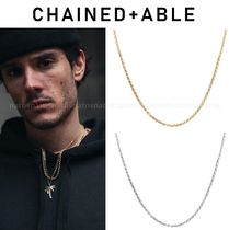 Chained & Able(チェーンドアンドエイブル) ネックレス・チョーカー 送料無料☆Chained & Able☆プレーンロープチェーン*ネックレス