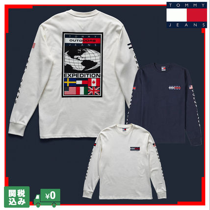 TOMMY JEANS TJM EXPEDITION Tシャツ M23 ロングスリーブ 関送込