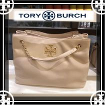 c3b44a9e3a 即発 追跡 Tory Burch BRITTEN TRIPLE COMPARTMENT TOTE ☆
