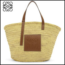 大人気 ★ ロエベ ★Beige and Tan Extra Large Basket Tote