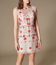 【KarenMillen】パーティードレス☆Embroidered Lace Dress