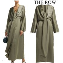 【19SS】THE ROW★Clementine oversized V-neck gown