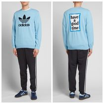 【注目コラボ】ADIDAS X HAVE A GOOD TIME KNIT CLEAR BLUE
