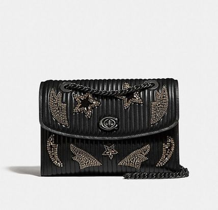Coach ◆(在庫・訳あり)31029 Parker quilted leather crystal