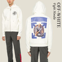 Off-White FIGHT ZIPPED HOODIE