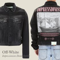 Off-White IMPRESSIONISM DENIM JACKET