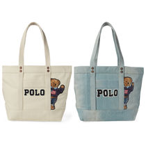 ★POLO RALPH LAUREN★ポロベアトートCanvas Polo Bear Tote Bag