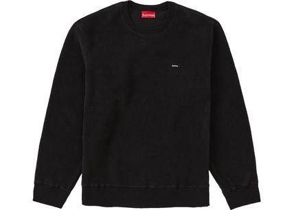 【関税・送料無料】Supreme Polartec Small Box Crewneck Black