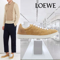 SALE**Loewe**ロエベ★Round-toe suede low-top trainers