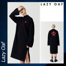 LAZY OAF Cold Hearted セーター ドレス ワンピース ブラック