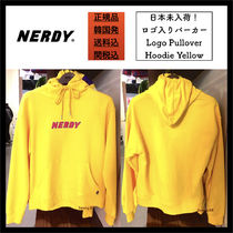 【NERDY】関税込/ロゴパーカー/Logo Pullover Hoodie Yellow
