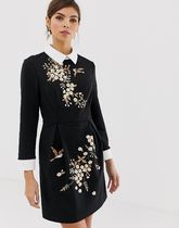 送料関税込◆Ted Baker Ellan embroidered dress