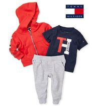 ae7b093e8f96e TOMMYキッズ☆Tシャツジップアップ&パンツ3点セット2から4歳 商品 ...