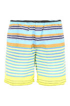 PRADA Striped Nylon Swim Shorts