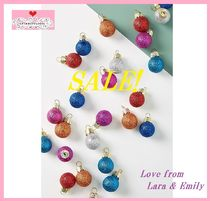 最終SALE☆ラス1即納☆Miniature Glitter Ornaments 25個SET