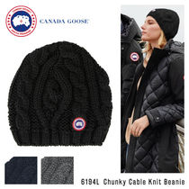 『CANADA GOOSE-カナダグース』Chunky Cable Knit Beanie[6194L]