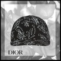 *DIOR *PATTERNED BASEBALL CAP*国内発送*