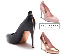 [SALE!][Ted Baker] 後ろ姿が素敵☆レザーパンプス 二色展開!