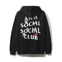 Anti Social Social Club BT21 Collab Peekaboo Black Hoodie 黒