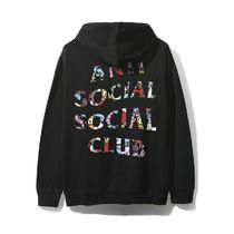 Anti Social Social Club BT21 Blended Black Hoodie Masochism