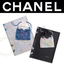 CHANEL パレオ ビーチ コットン 2019SS 直営店 ギフト 人気 青