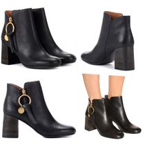 See by Chloe♪オシャレなLeather ankle boots/関税送料込