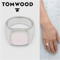 国内発送★TOM WOOD★Cushion Mother Of Pearlリング