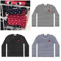 COMME des GARCONS PLAY プレイハート ロングTシャツ