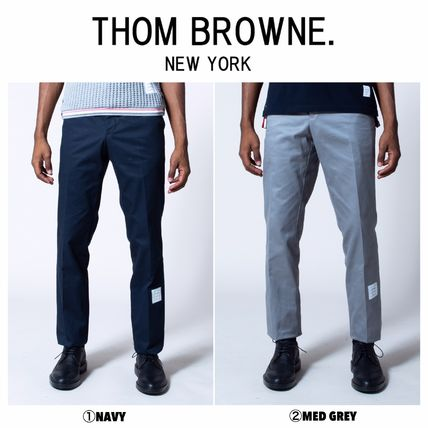 THOM BROWNE パンツ 【THOM BROWNE】☆大人気☆ Cotton Unconstructed Chino Trouser