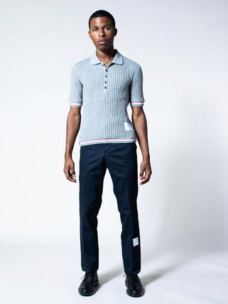 THOM BROWNE パンツ 【THOM BROWNE】☆大人気☆ Cotton Unconstructed Chino Trouser(3)