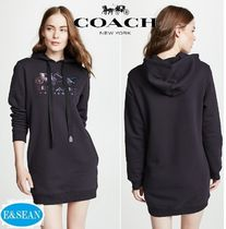 【Coach】Mirrored Rexyフーディワンピース