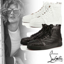 Christian Louboutin Louis Spikes Men's Flat スニーカー