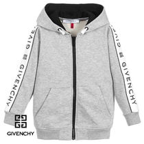 New★19ss▼GIVENCHY▼ロゴラインパーカー G/14y大人OK[関税込]