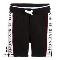 New★19ss▼GIVENCHY▼ロゴラインハーフパンツ/6~12y [関税込]