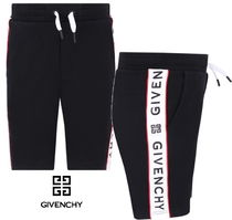New★19ss▼GIVENCHY▼ロゴラインハーフパンツ/14y [関税込]